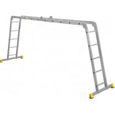 Лестница алюминиевая Алюмет 4*5 усиленная